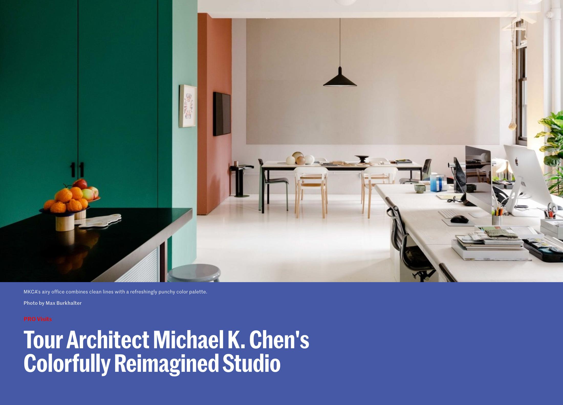 Case E Stili Design mkca — architectural digest studio tour